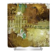 Palace And Park Of Versailles Shower Curtain