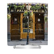 Palace Bar - Dublin Ireland Shower Curtain