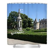 Palace Bussy Rabutin And Garden Shower Curtain