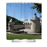 Palace Bussy - Rabutin - Burgundy Shower Curtain