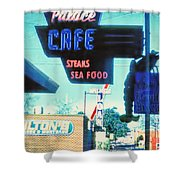 Palace Cafe Vintage Shower Curtain