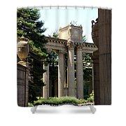 Palace Fine Arts Pillars And Urn Shower Curtain