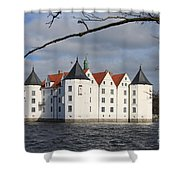 Palace Gluecksburg - Germany Shower Curtain