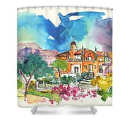 Palace In Sintra Shower Curtain