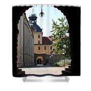 Palace Moritzburg - Zeitz Shower Curtain