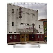 Palace Movie Theater Shower Curtain