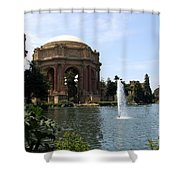 Palace Of Fine Arts And Lagoon Shower Curtain