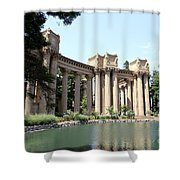 Palace Of Fine Arts Colonnades  Shower Curtain