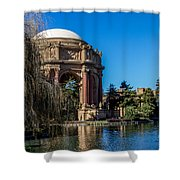 Palace Of Fine Arts In Color Shower Curtain
