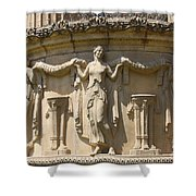 Palace Of Fine Arts Relief San Francisco Shower Curtain
