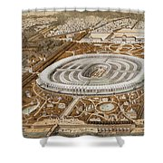 Palace Of The Universal Exhibition In Paris Shower Curtain