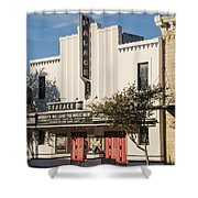 Palace Theater --- Georgetown Texas  Shower Curtain