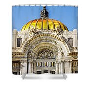 Palacio De Bellas Artes Shower Curtain