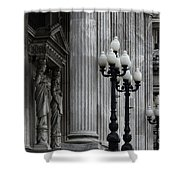 Palacio Del Congreso Argentina Shower Curtain
