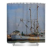 Palacios Texas Rhonda Kathleen In Port Shower Curtain
