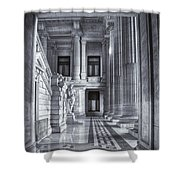 Palais De Justice Shower Curtain