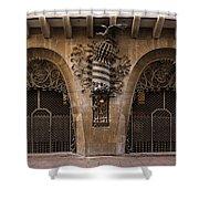 Palau Guell 1886 To 88 Gaudi Barcelona Spain Dsc01413 Shower Curtain