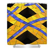 Palau Guell Chimney Shower Curtain