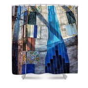 Palau Guell Shower Curtain