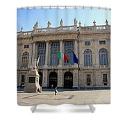 Palazzo Madama In Turin Shower Curtain