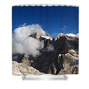 Pale Di San Martino - Cimon Della Pala Shower Curtain