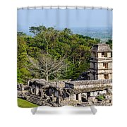 Palenque Palace Shower Curtain