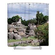 Palenque Ruins Shower Curtain