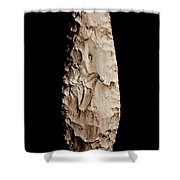 Paleolithic Tool 2 No Text Shower Curtain