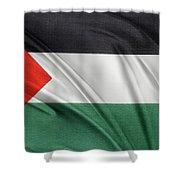 Palestine Flag Shower Curtain