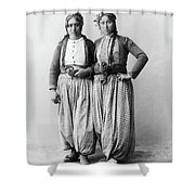 Palestine Gypsies, 1893 Shower Curtain