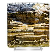 Palette Spring 2 Yellowstone National Park Wy Shower Curtain
