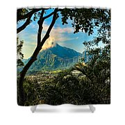 Pali Lookout For Puu Alii Shower Curtain