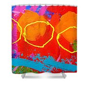 Palimpsest 004 Shower Curtain