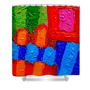 Palimpsest Xiv Shower Curtain