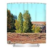 Palisades Idaho Shower Curtain