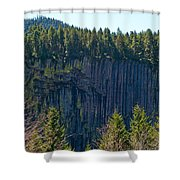 Palisades View Point Shower Curtain