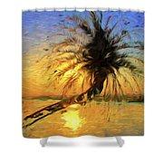 Palm Beauty Shower Curtain
