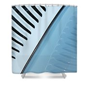 Palm Frond 1934 Vicky Style Shower Curtain