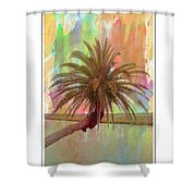Palm On The Loop Shower Curtain