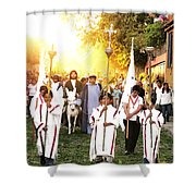 Palm Sunday - Mexico Shower Curtain