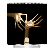 Palm Tickle Shower Curtain