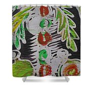 Palm Tree In The Bush.   Shower Curtain