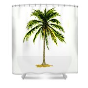 Palm Tree Number 2 Shower Curtain