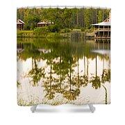 Palmetto Bluff South Carolina Shower Curtain
