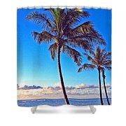 Palms 438 Shower Curtain
