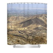 Palms To Pines Shower Curtain