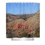 Palo Duro Canyon 021013.282 Shower Curtain