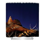 Palo Duro Canyon 2am-114844 Shower Curtain