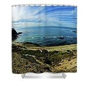 Palos Verdes California  Shower Curtain