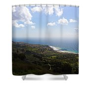 Palos Verdes Peninsula Shower Curtain